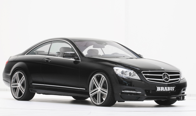 Mercedes CL e S500 by Brabus - La linea