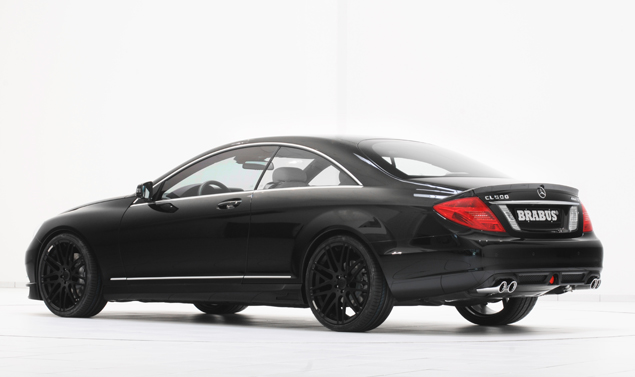 Mercedes CL e S500 by Brabus - Retrotreno