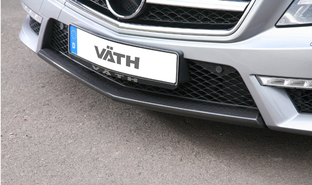 Mercedes CLS tuning by VÄTH - Diffusore anteriore