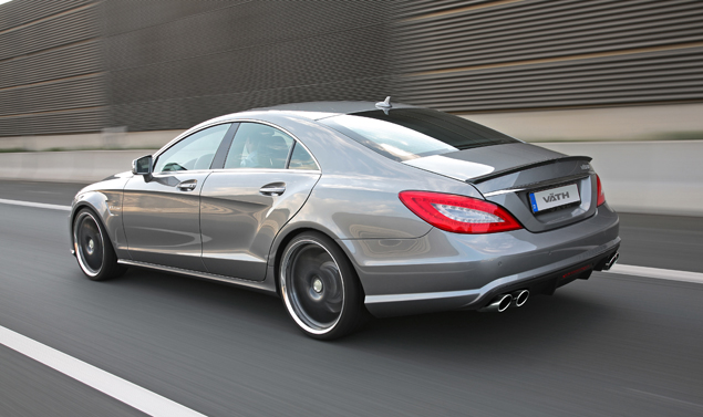 Mercedes CLS tuning by VÄTH - Profilo posteriore