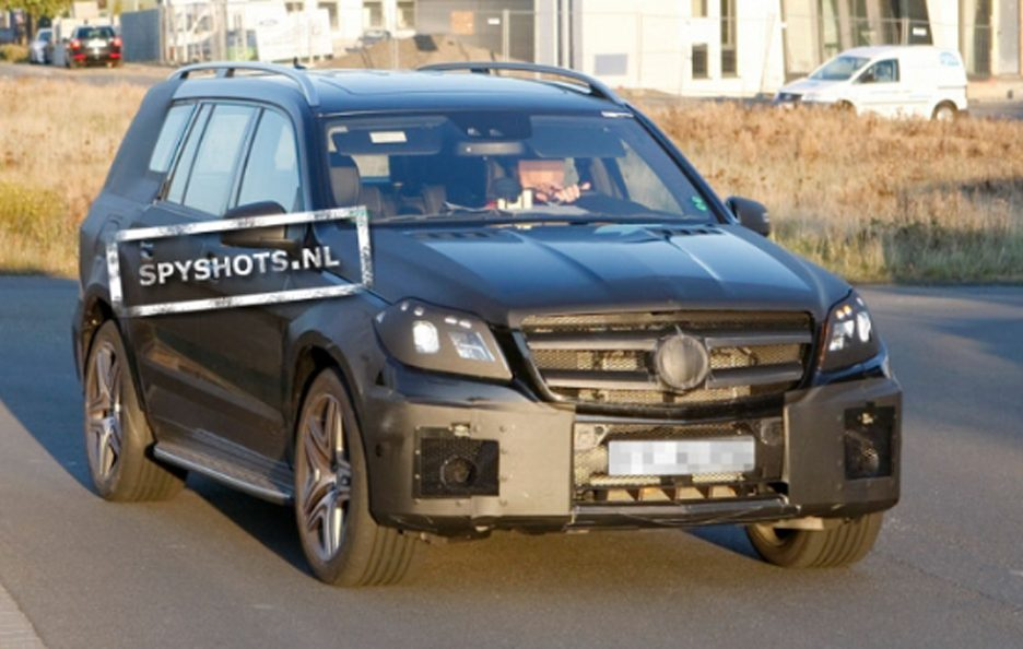 Mercedes GL AMG - Frontale