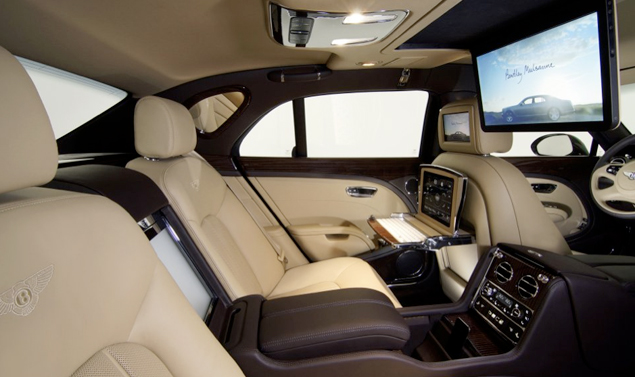 Mulsanne Executive Interior Concept - Panoramica