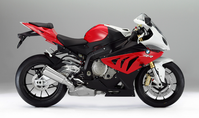 Nuova BMW S 100 RR - Laterale dx in rosso