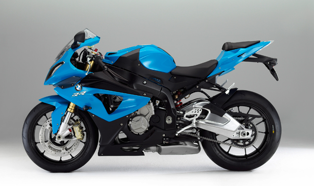 Nuova BMW S 100 RR - Laterale sx in blue