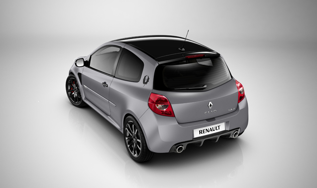 "Renault Clio RS: ""dark style"""