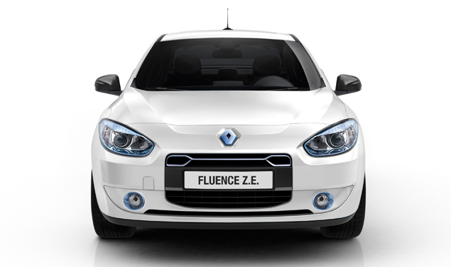 Renault Fluence - Il frontale