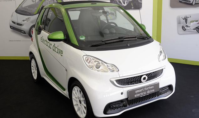 Smart Fortwo Elecrtic Drive - Frontale