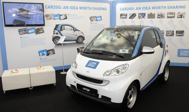 Smart Fortwo Elecrtic Drive - Stand