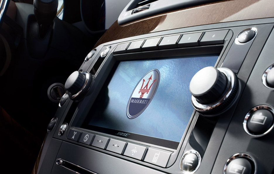 12 - Maserati Quattroporte V restyling S display
