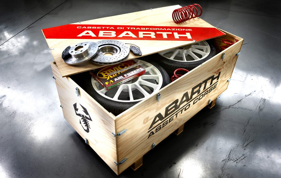 13 - Abarth 500 esseesse scatola