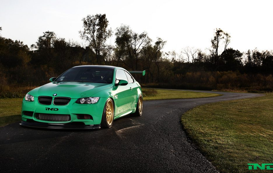 BMW M3 Green Hell by IND - La linea