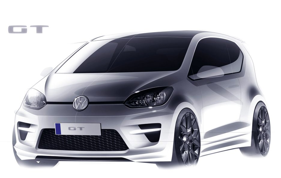 Volkswagen Up! GT - Bozza frontale