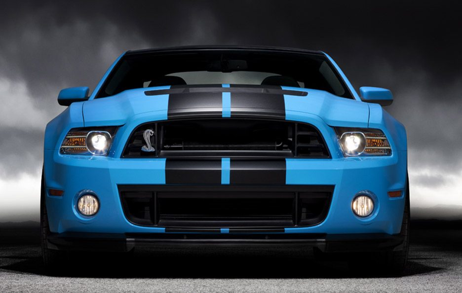 Ford Mustang Shelby GT500 - Frontale basso