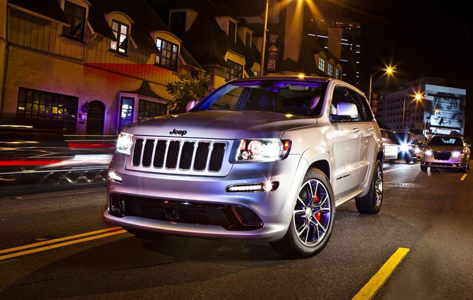 Jeep Grand Cherokee SRT8 - Frontale