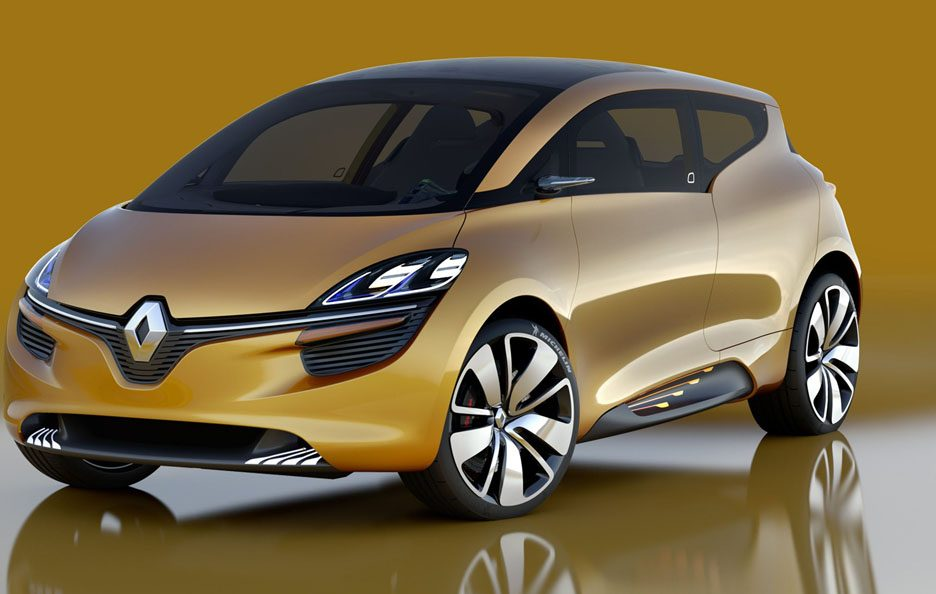 Renault R-Space - Profilo frontale