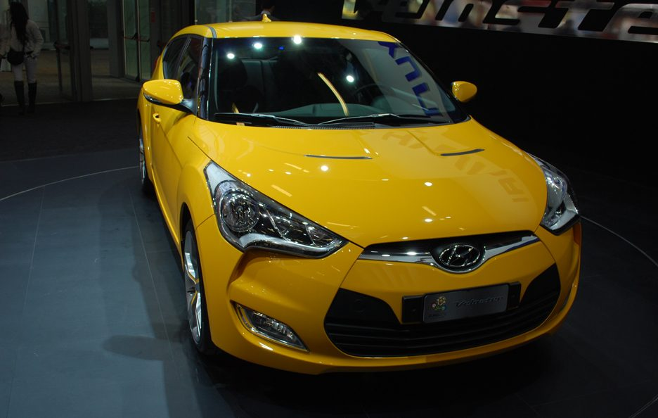 Hyundai Veloster - Frontale