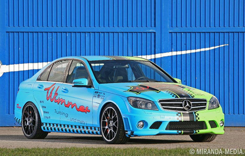 Mercedes C63 AMG by Wimmer