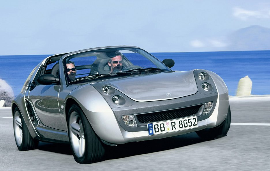 26 - Smart roadster coupé