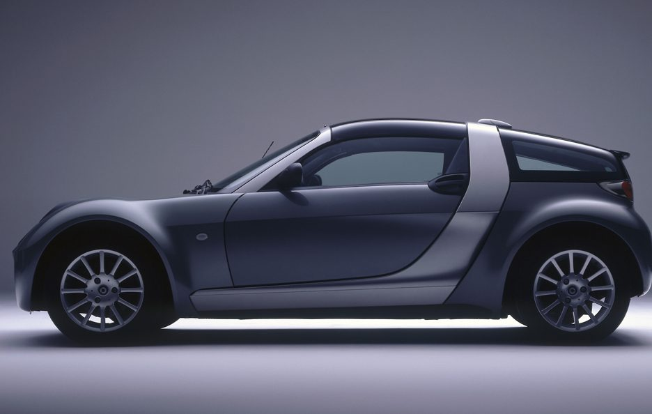 27 - Smart roadster coupé profilo