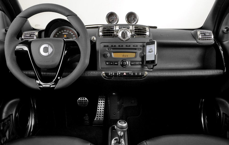 40 - Smart fortwo brabus interni