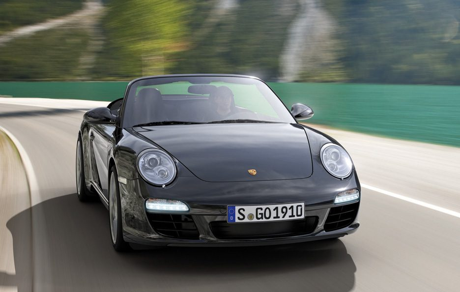 41 - Porsche 911 997 Carrera Cabriolet Black Edition