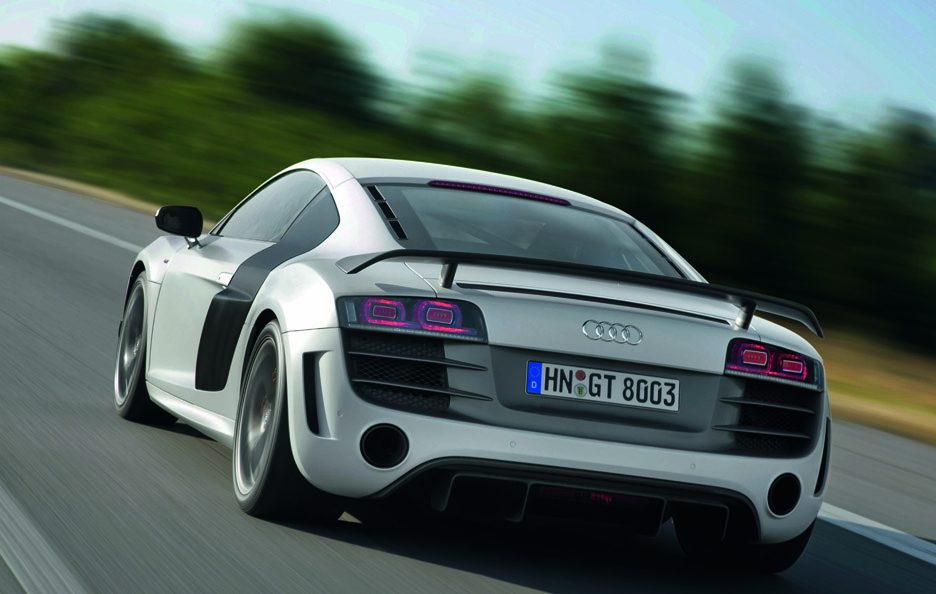 Audi R8 GT - Posteriore in motion
