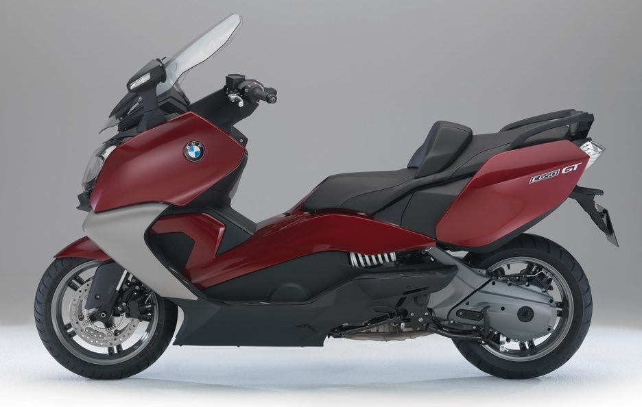BMW C650 GT - In rosso