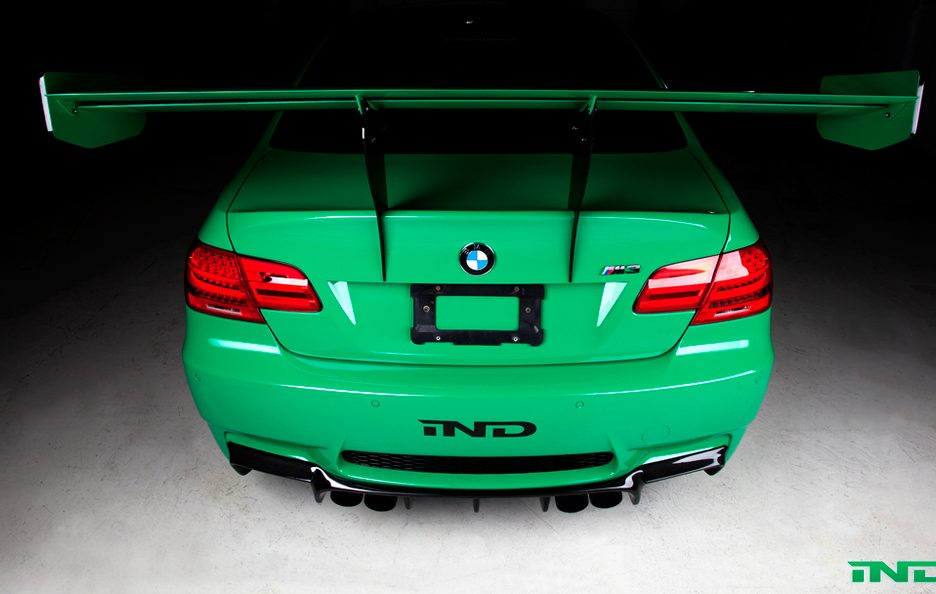 BMW M3 Green Hell by IND - Ala posteriore regolabile