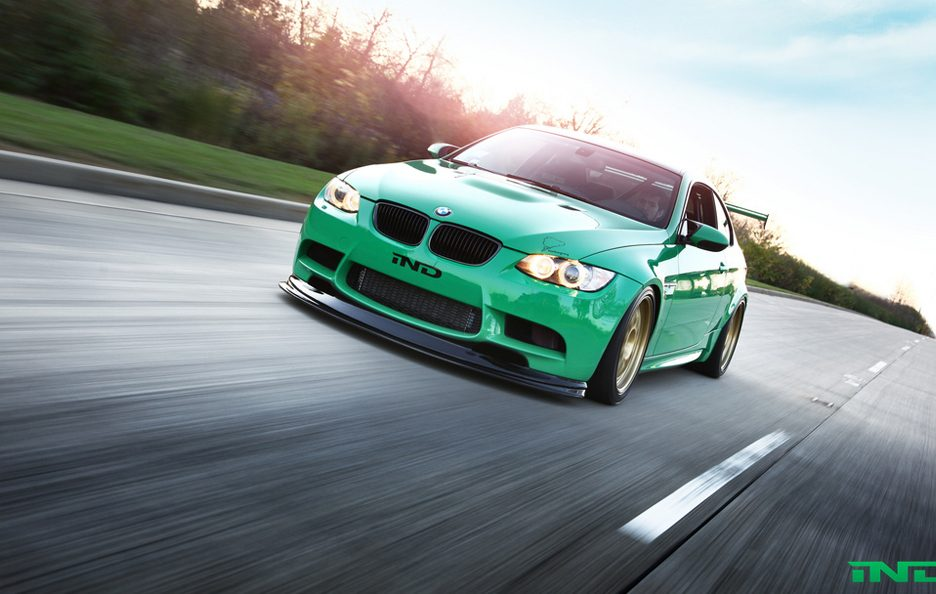 BMW M3 Green Hell by IND - Il muso