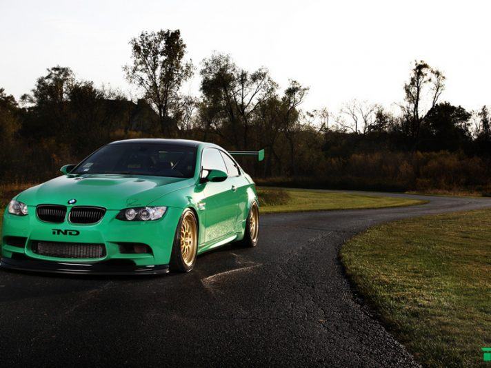 "IND: BMW M3 ""Green Hell"""