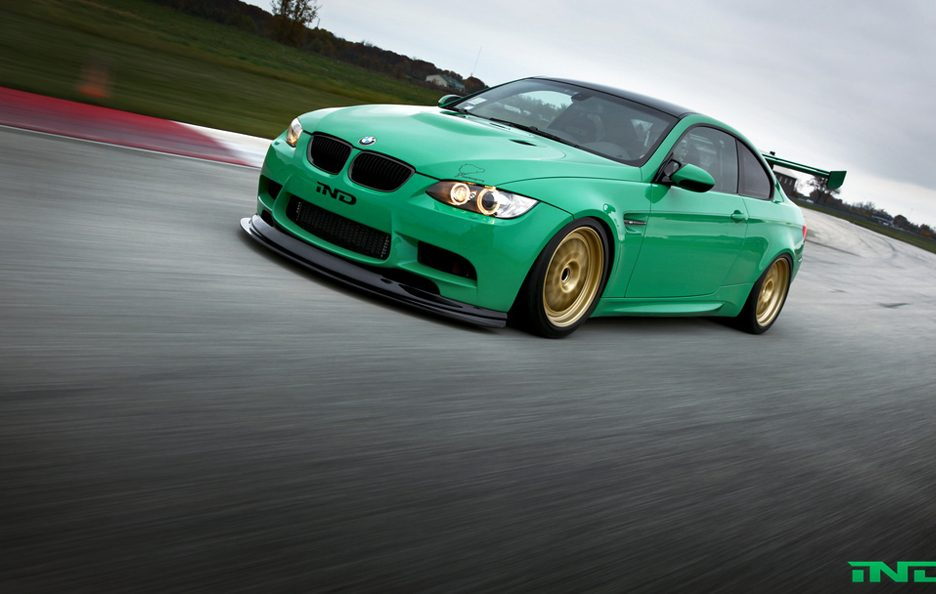 BMW M3 Green Hell by IND - Profilo frontale