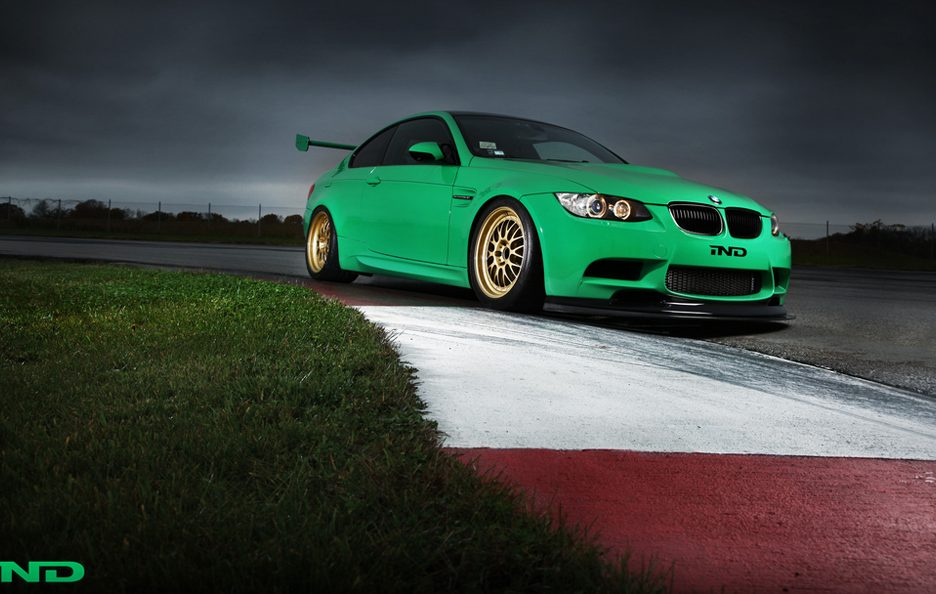 BMW M3 Green Hell by IND - Profilo frontale basso