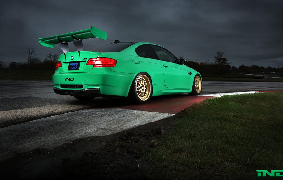 BMW M3 Green Hell by IND - Profilo posteriore basso