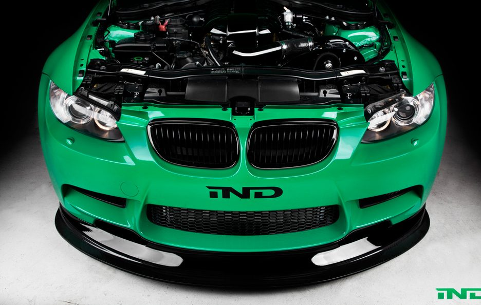 BMW M3 Green Hell by IND - Splitter frontale in carbonio