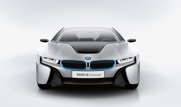 BMWi8_Frontale