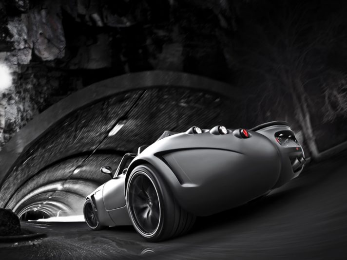 Black Bat Wiesmann: una dark roadster da 600 CV