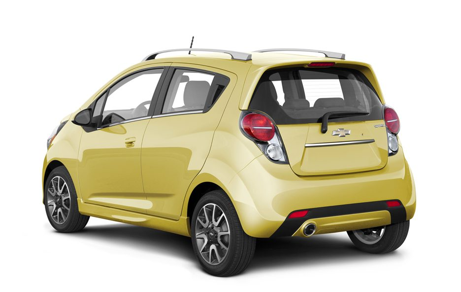 Chevrolet Spark - Yellow - Posteriore