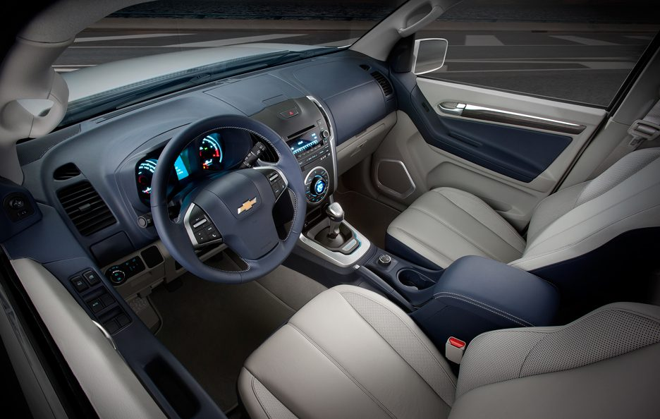 Chevrolet Trailblazer Concept - Interni
