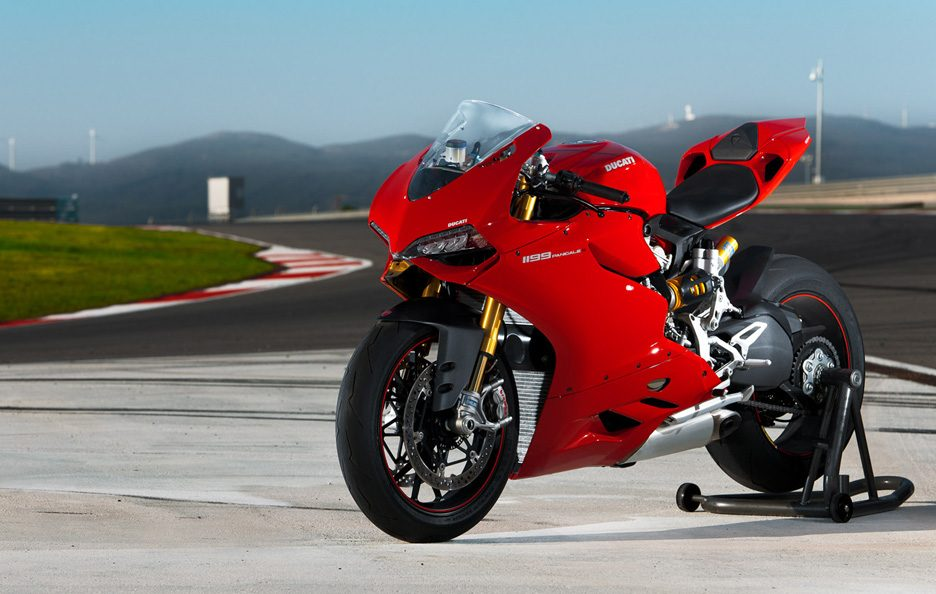 Ducati 1199 Panigale - Frontale