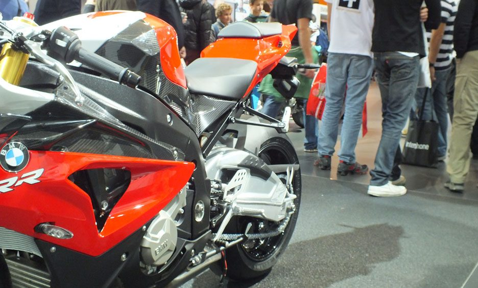 EICMA 2011 - BMW S 1000 RR sellino