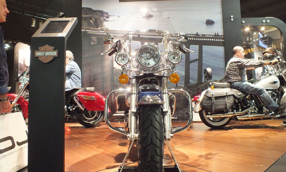EICMA 2011 Harley-Davidson Road King frontale