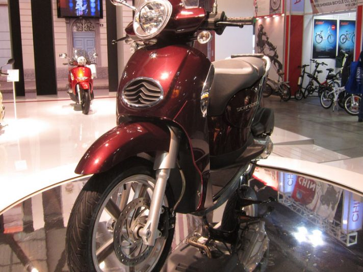 EICMA 2011 - Lo stand Scarabeo