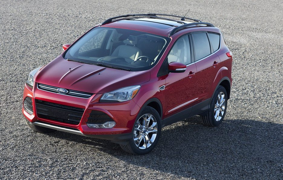 Ford Escape - Red - Design