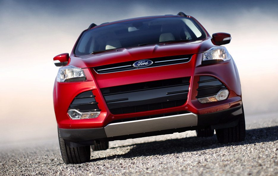 Ford Escape - Red - Frontale