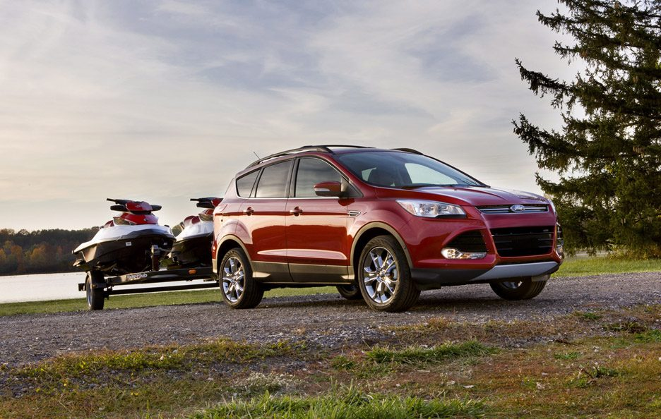 Ford Escape - Red - Stile