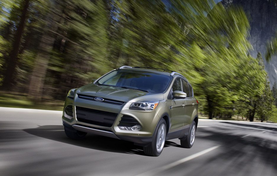 Ford Escape - Su strada - Frontale
