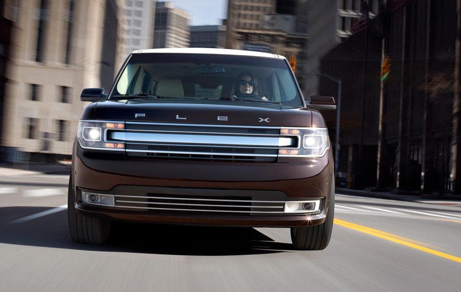 Ford Flex - Frontale