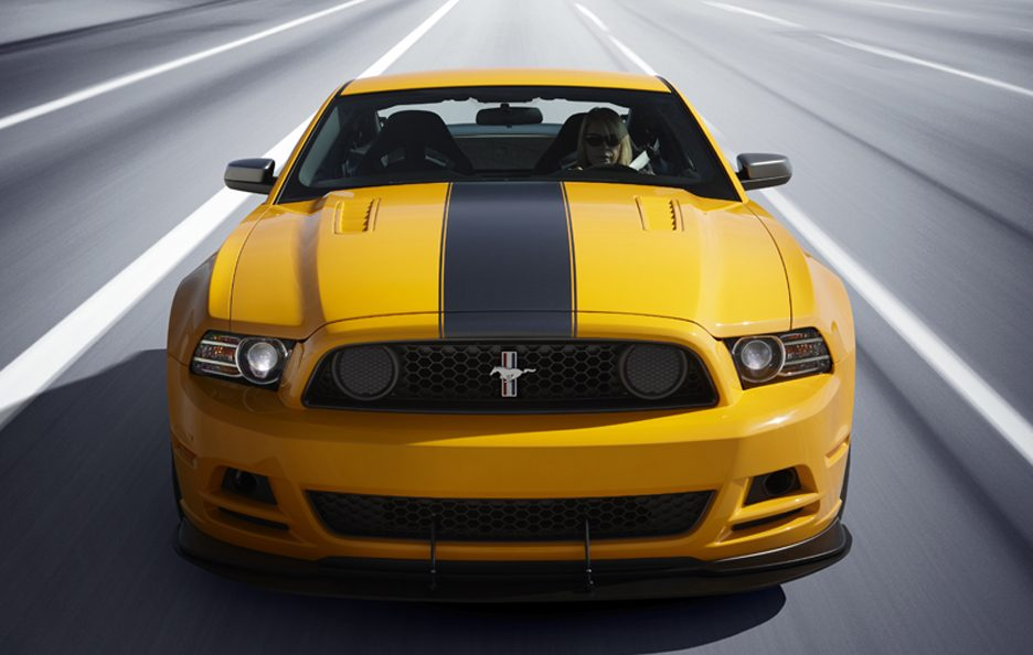 Ford Mustang Boss 302 - Frontale alto