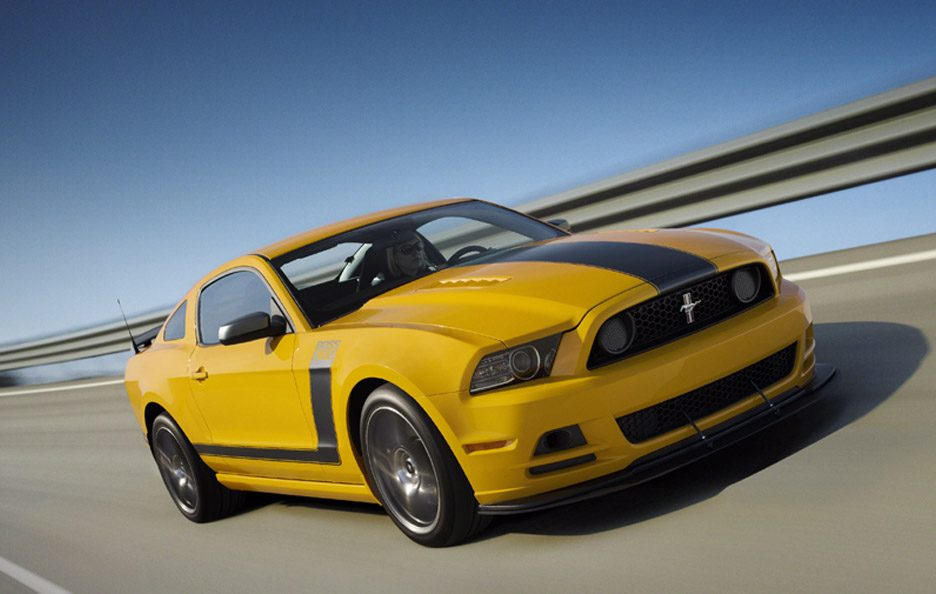 Ford Mustang Boss 302 - In motion