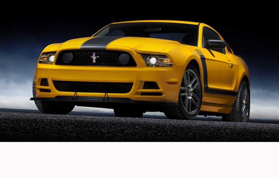 Ford Mustang Boss 302 - Profilo frontale basso